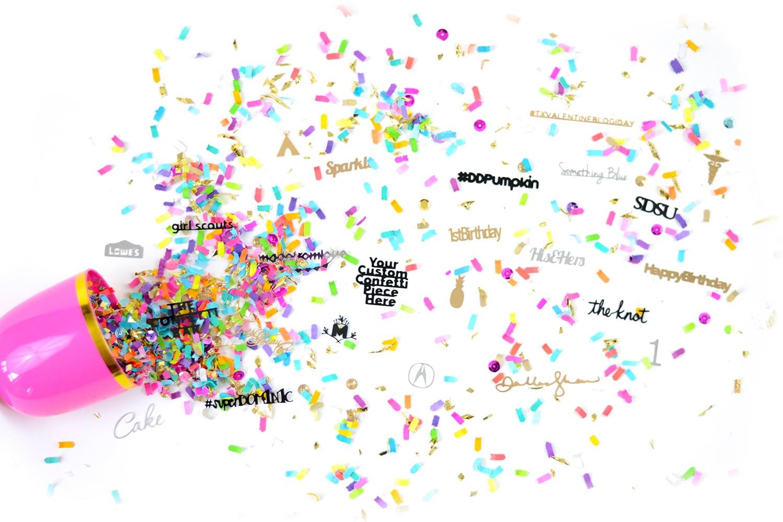 photo confetti how to make