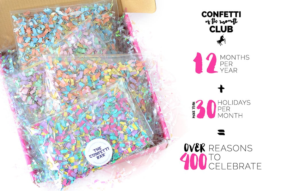 Confetti of the Month Club