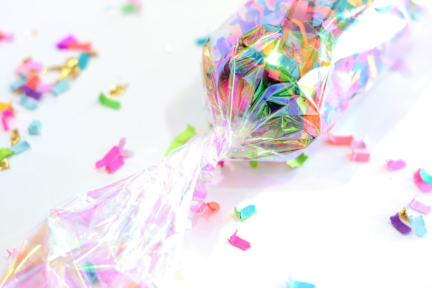 DIY Confetti Party Favors
