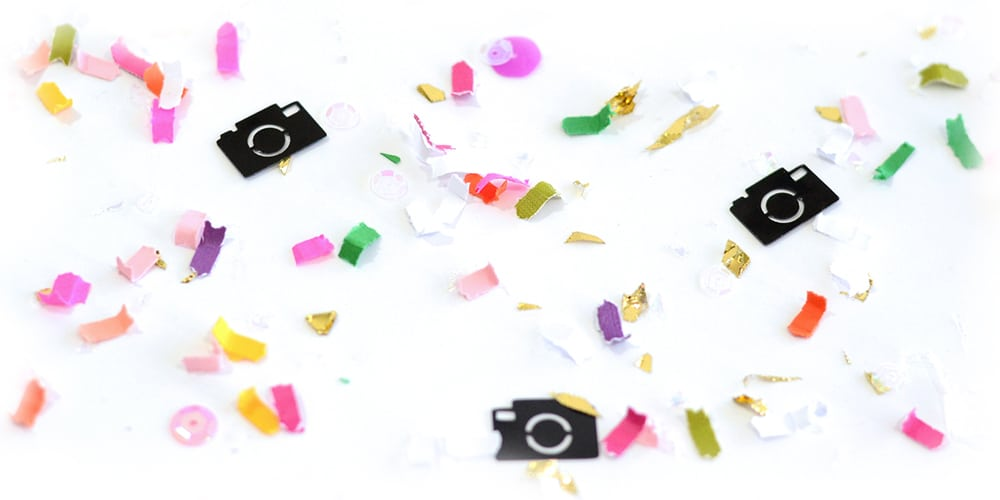 Custom Confetti for Photographers by The Confetti Bar