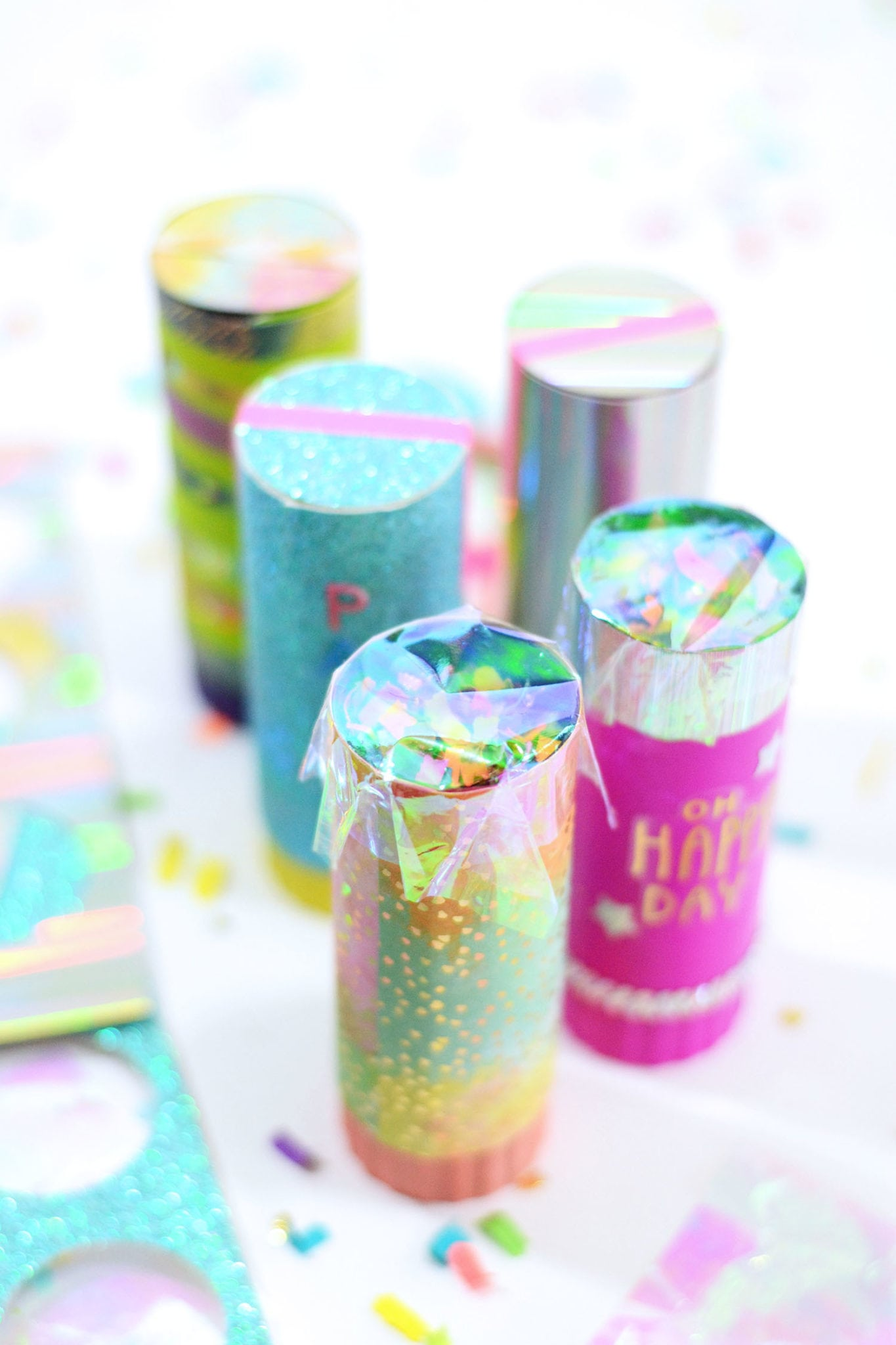 Party Hack: Reusable Confetti Poppers by The Confetti Bar
