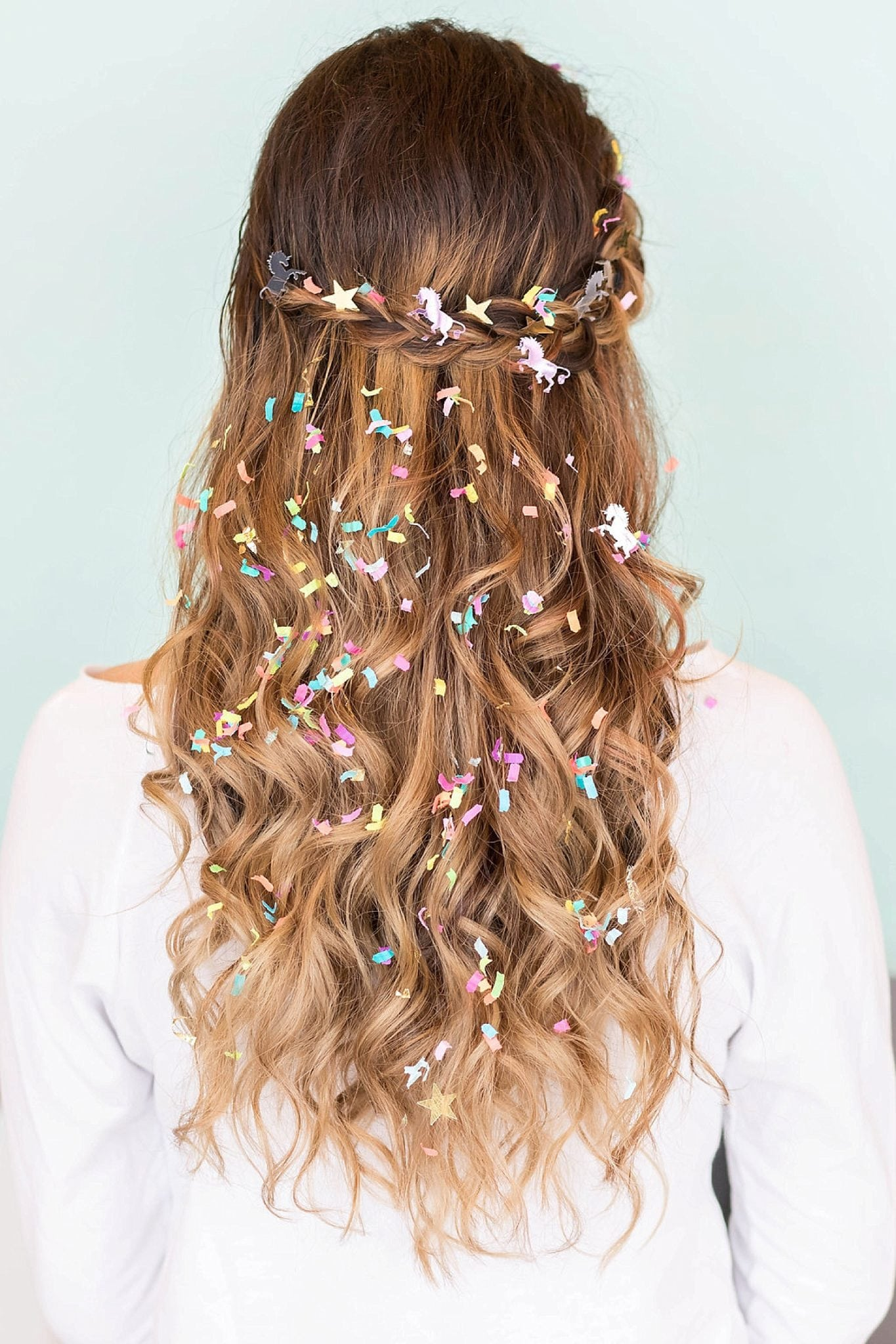 Ultimate Confetti Party Hair