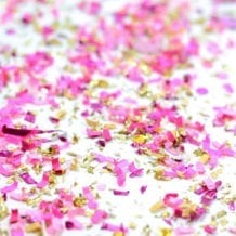 Pretty Pretty Princess confetti mix by The Confetti Bar