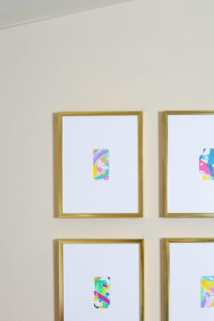 How To Add Small Art To Frames