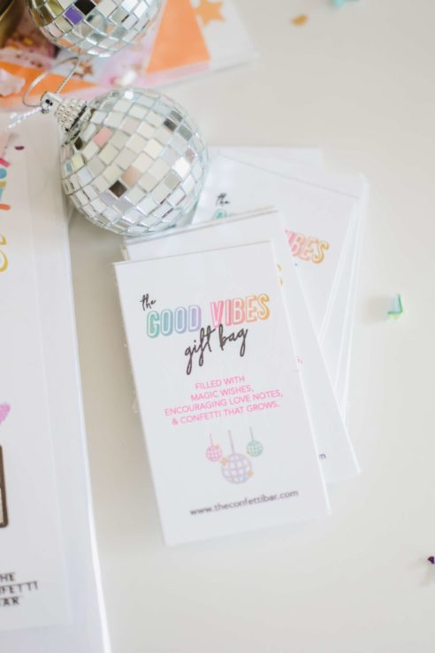 Good Vibes Gift Bag Tags