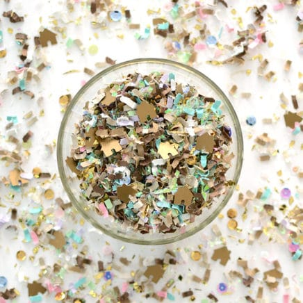 Gingerbread House Confetti Mix