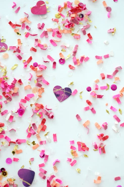 This Is How A Heart Beats Confetti Mix