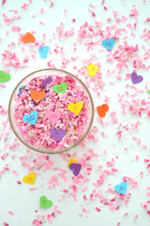 Sweet Hearts Scented Confetti Mix