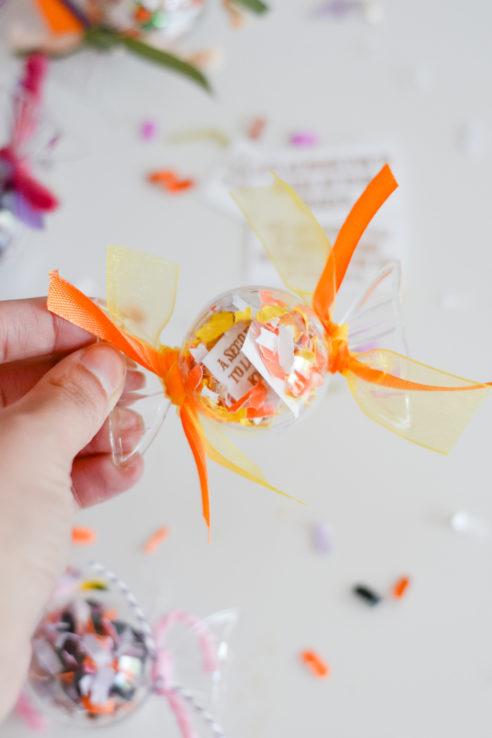 Halloween Confetti Fortunes